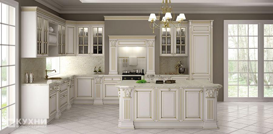 Кухня в английском стиле 13