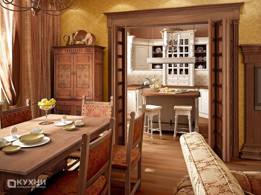 Кухня в английском стиле 3