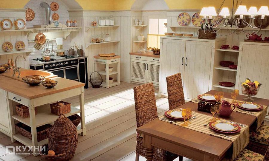 Кухня в итальянском стиле 9