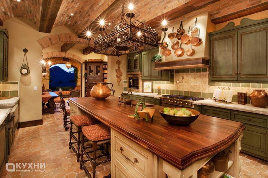 Кухня в итальянском стиле 4