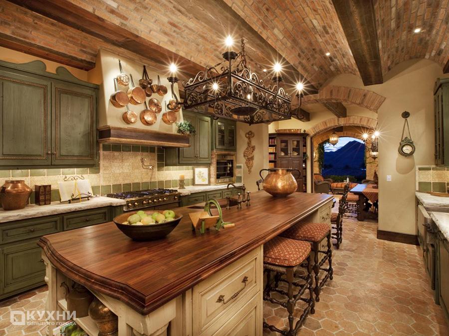 Кухня в итальянском стиле 3