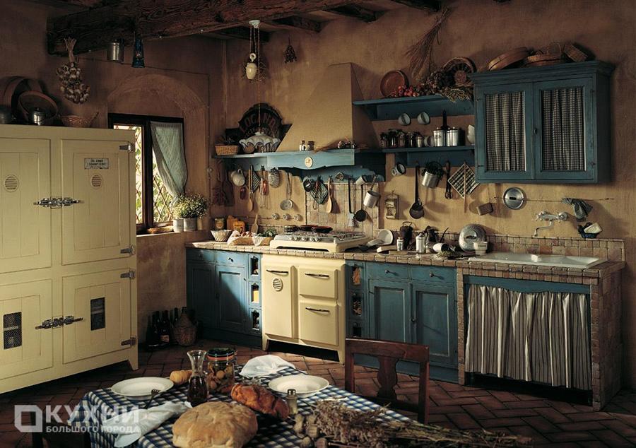 Кухня в стиле кантри 15