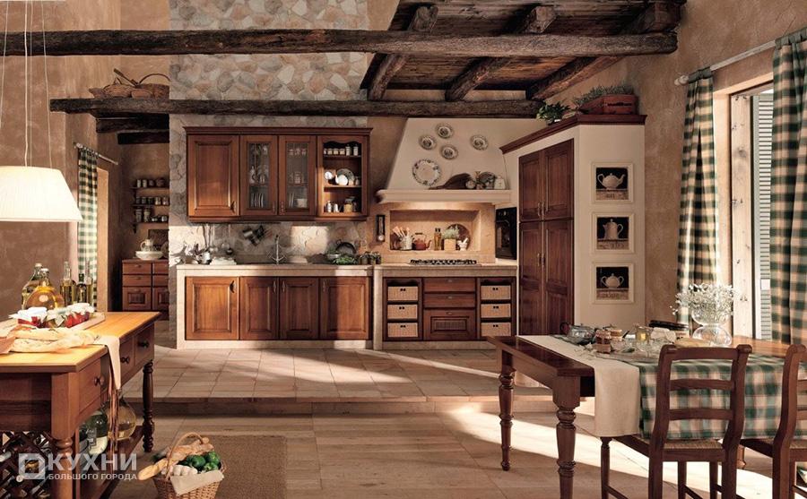 Кухня в стиле кантри 12
