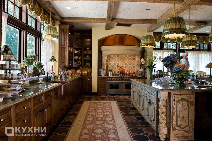 Кухня в стиле кантри 1