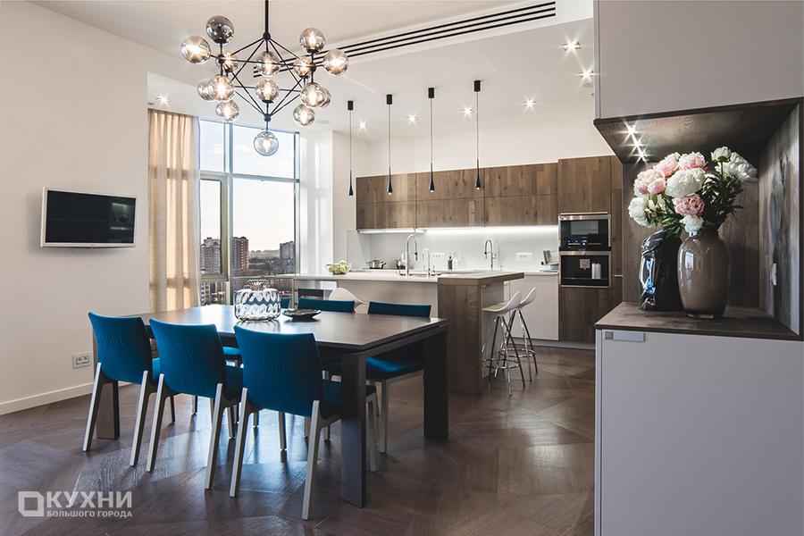 Кухня в стиле минимализма 11