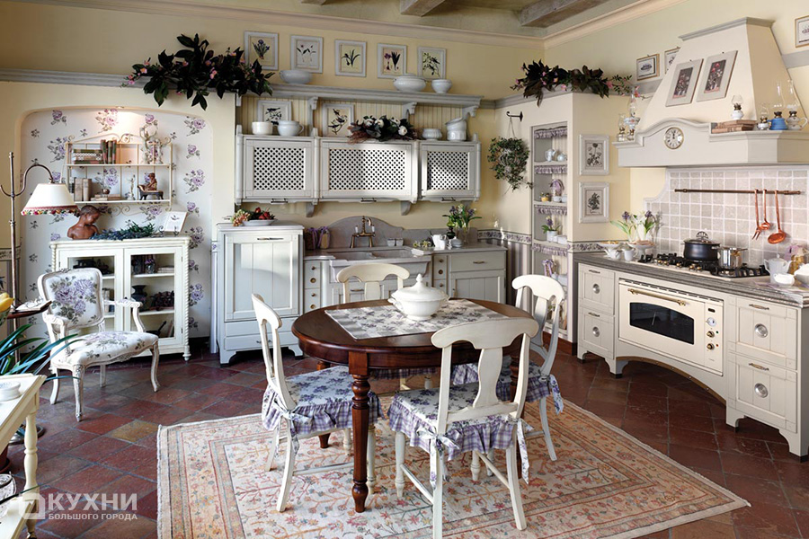 Кухня в стиле прованс 1