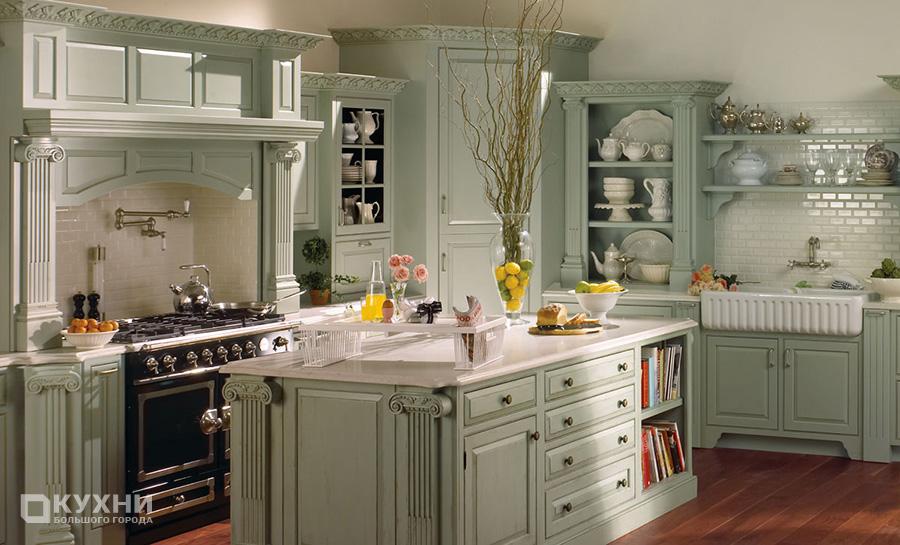 Кухня в стиле прованс 12