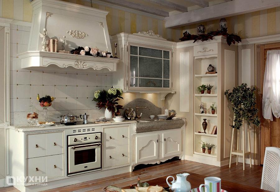 Кухня в стиле прованс 6
