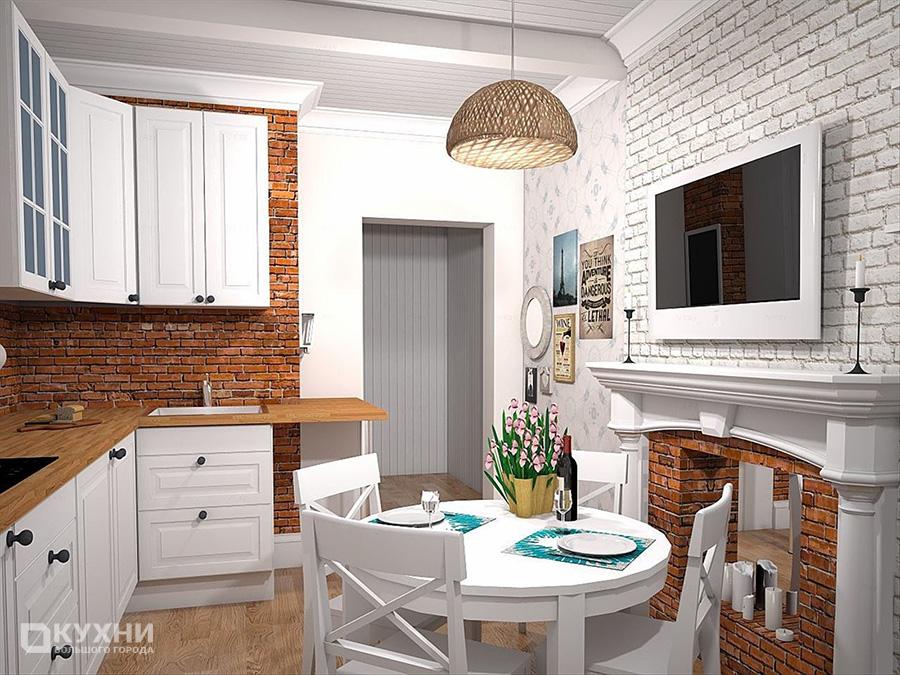 Кухня в скандинавском стиле 10