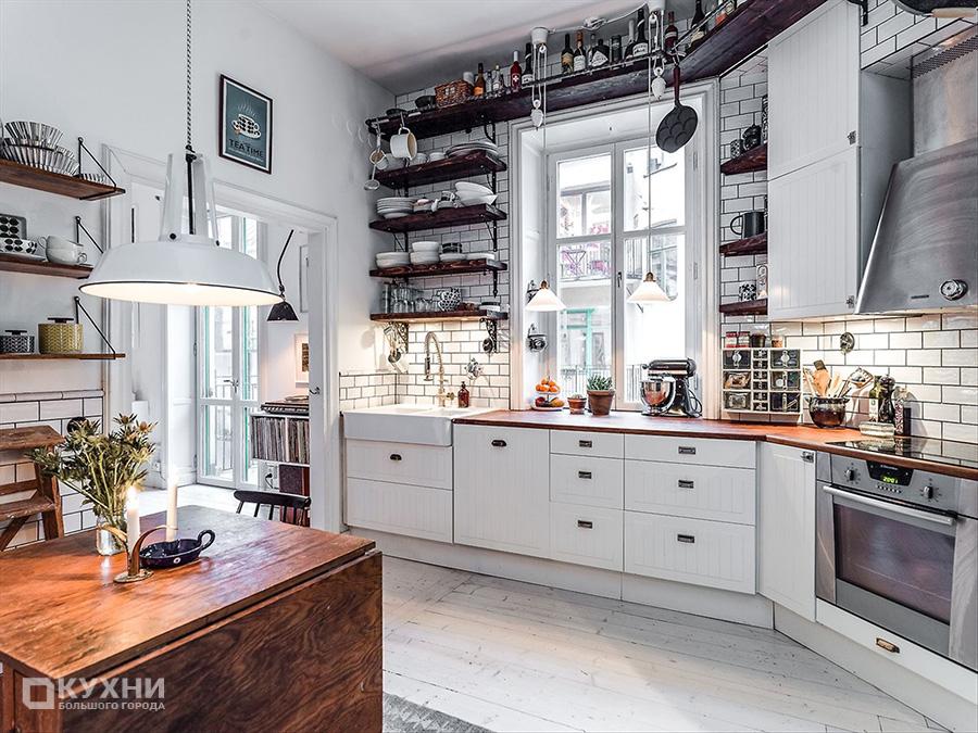 Кухня в скандинавском стиле 11