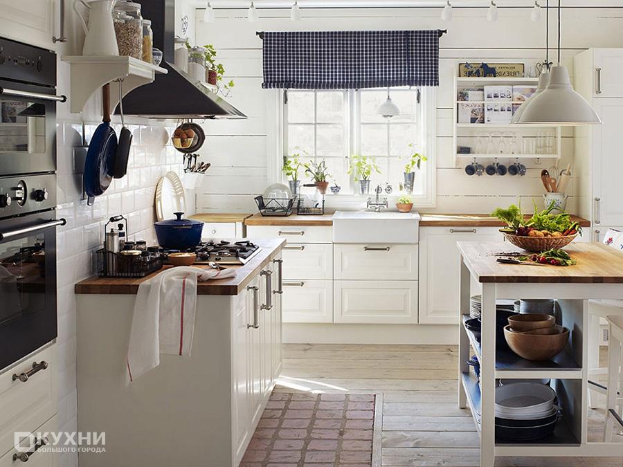 Кухня в скандинавском стиле 12