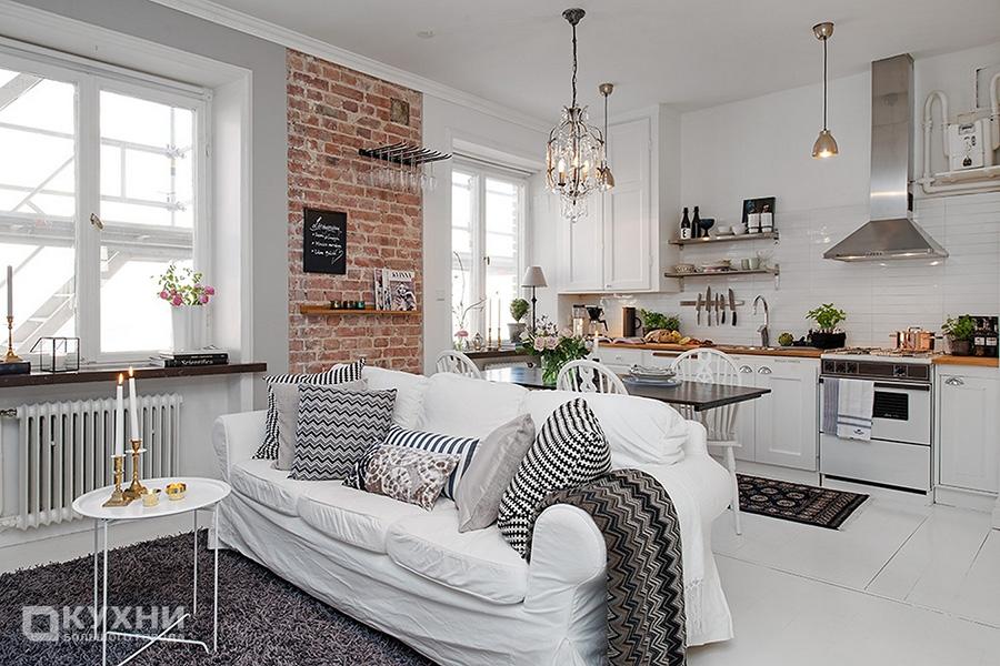 Кухня в скандинавском стиле 5