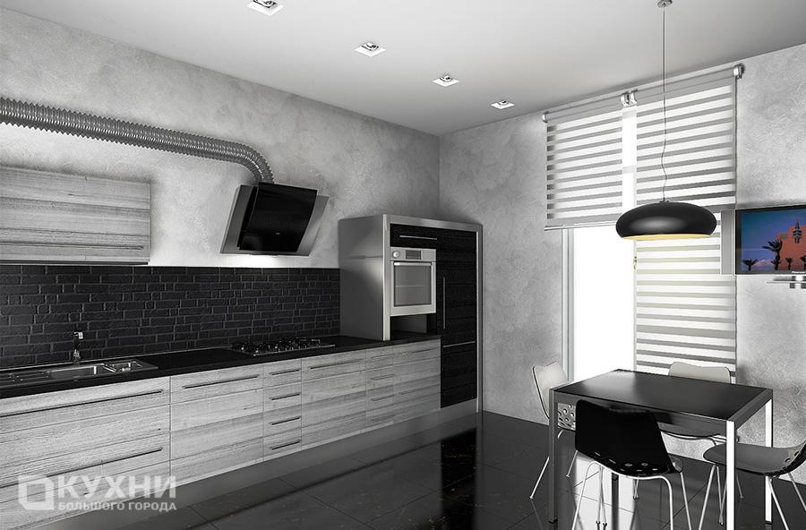 Кухня в стиле хай-тек 3