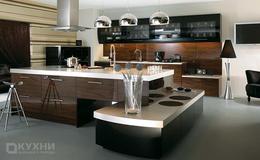 Кухня в стиле хай-тек 6