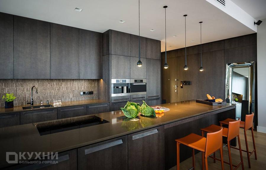 Кухня в стиле хай-тек 9