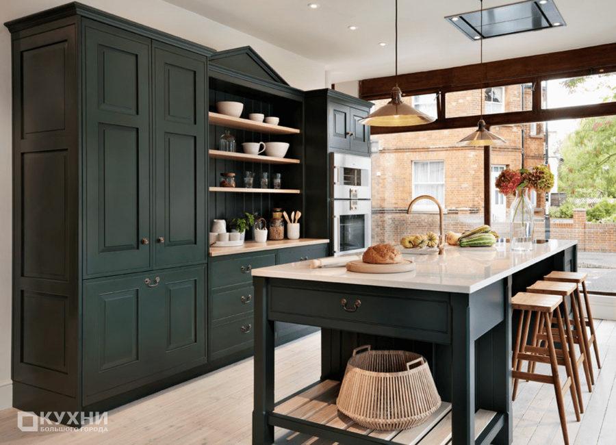 Кухня в английском стиле 12