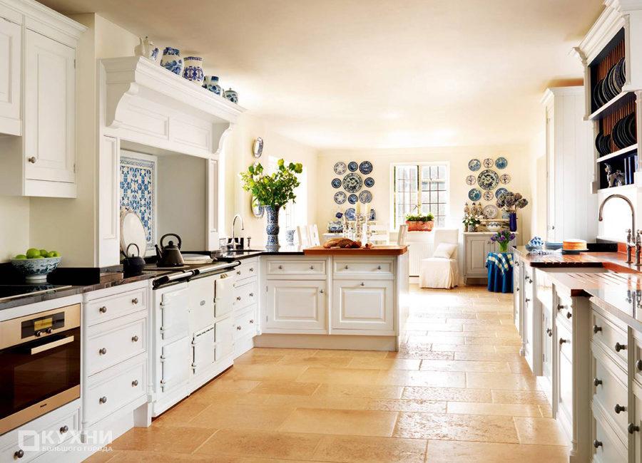 Кухня в английском стиле 10