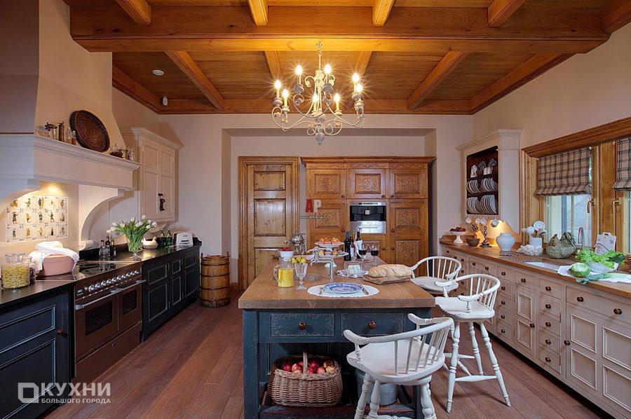 Кухня в английском стиле 4