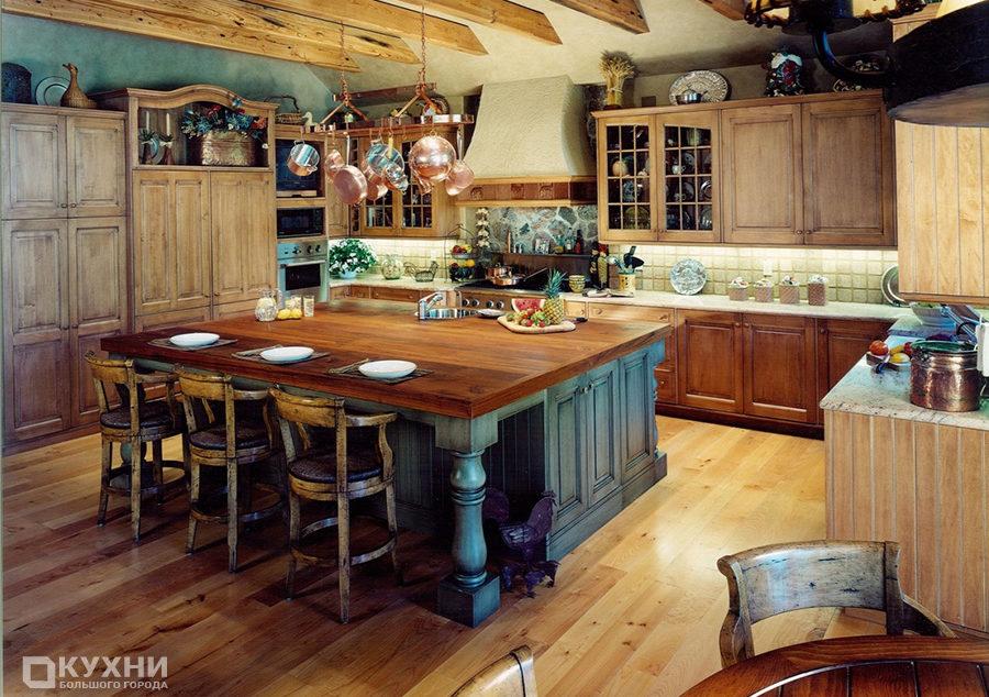 Кухня в стиле кантри 13