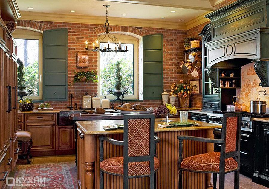 Кухня в стиле кантри 14