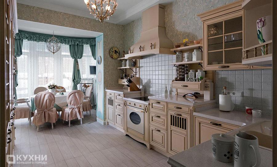 Кухня в стиле прованс 10