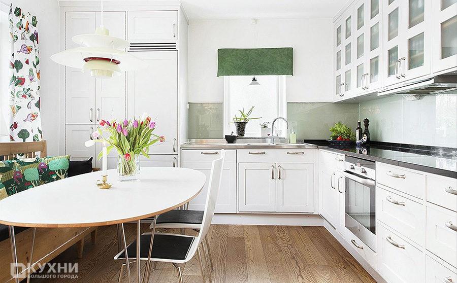 Кухня в скандинавском стиле 13