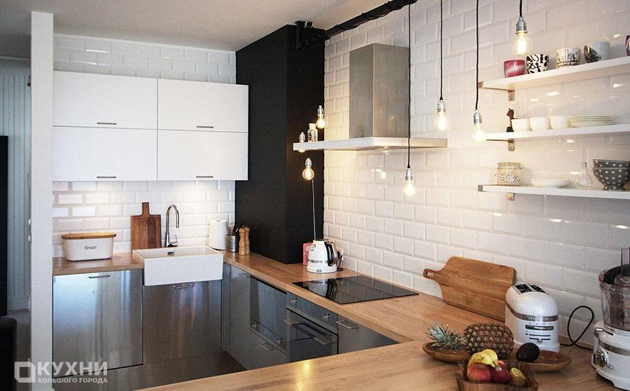 Кухня в скандинавском стиле 14