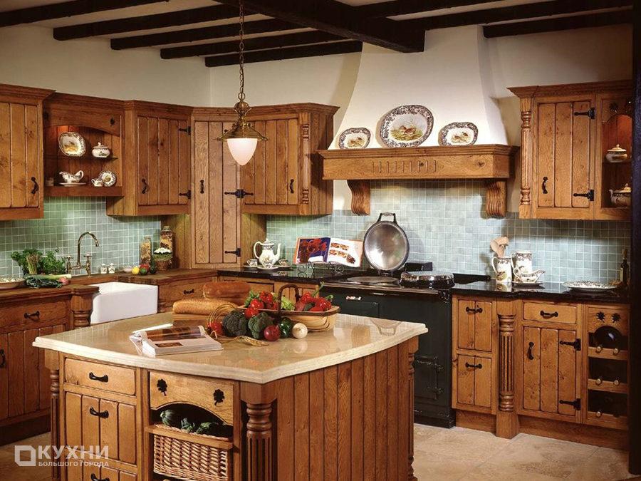 Кухня в итальянском стиле 1