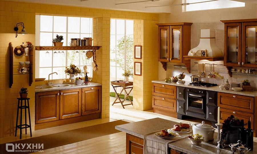 Кухня в итальянском стиле 7