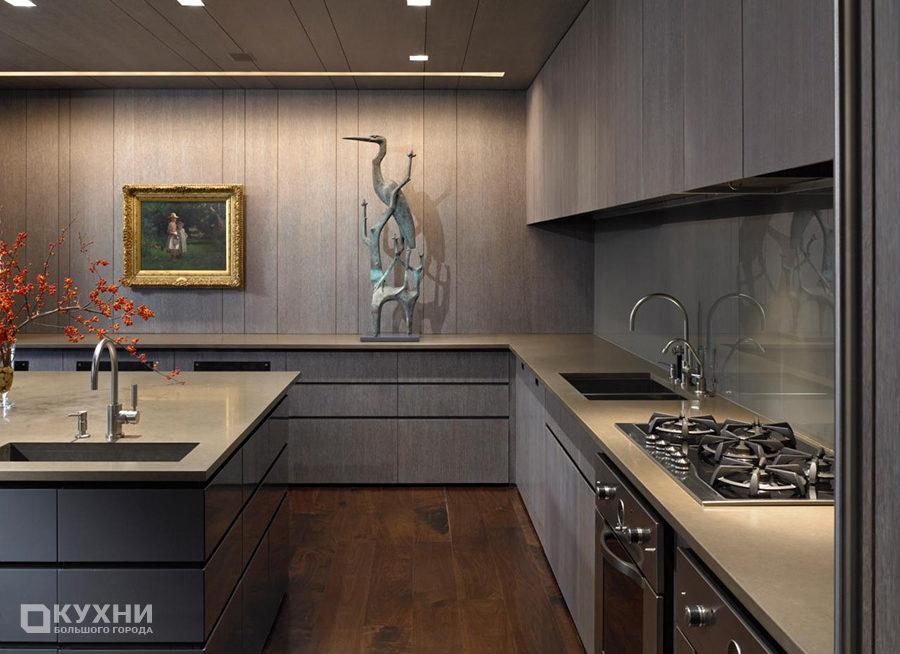 Кухня в стиле минимализма 13