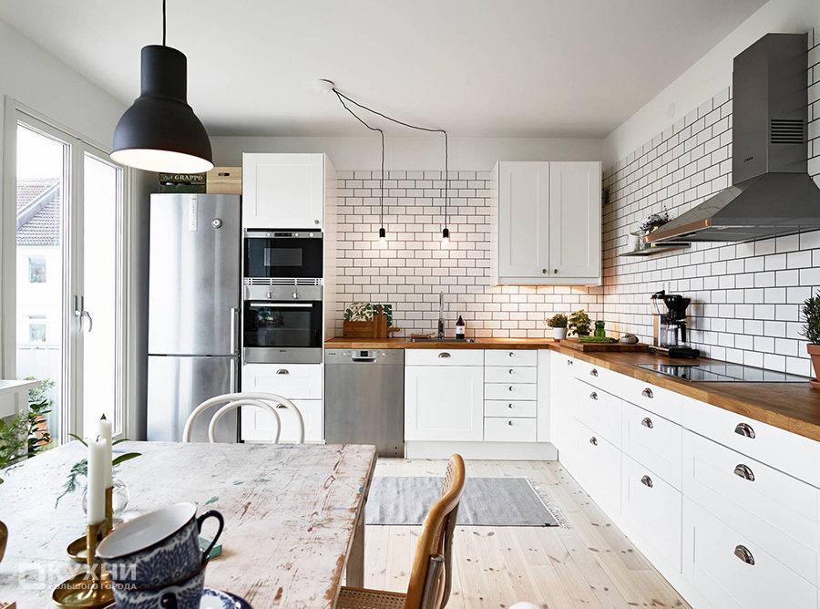 Кухня в скандинавском стиле 8