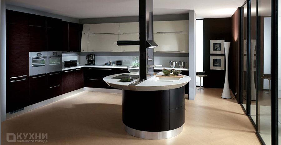 Кухня в стиле хай-тек 10