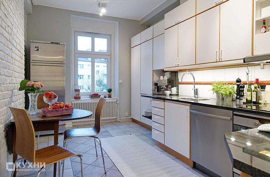 Кухня в скандинавском стиле 2