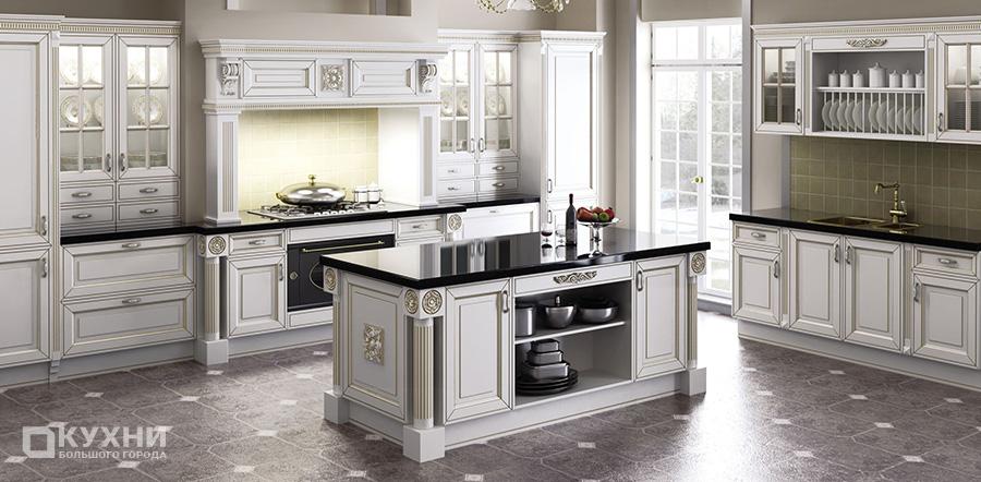 Кухня в английском стиле 15