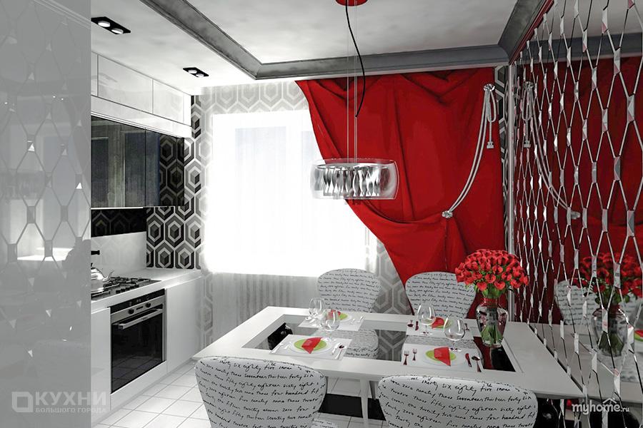 Кухня в стиле Ар-деко 11
