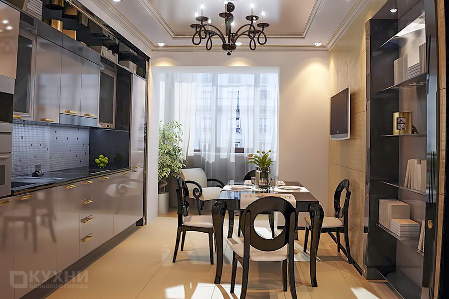 Кухня в стиле Ар-деко 5