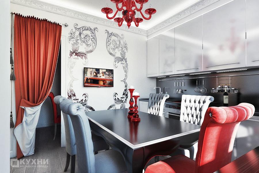 Кухня в стиле Ар-деко 6