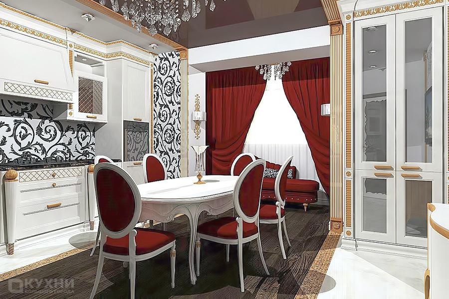 Кухня в стиле Ар-деко 8