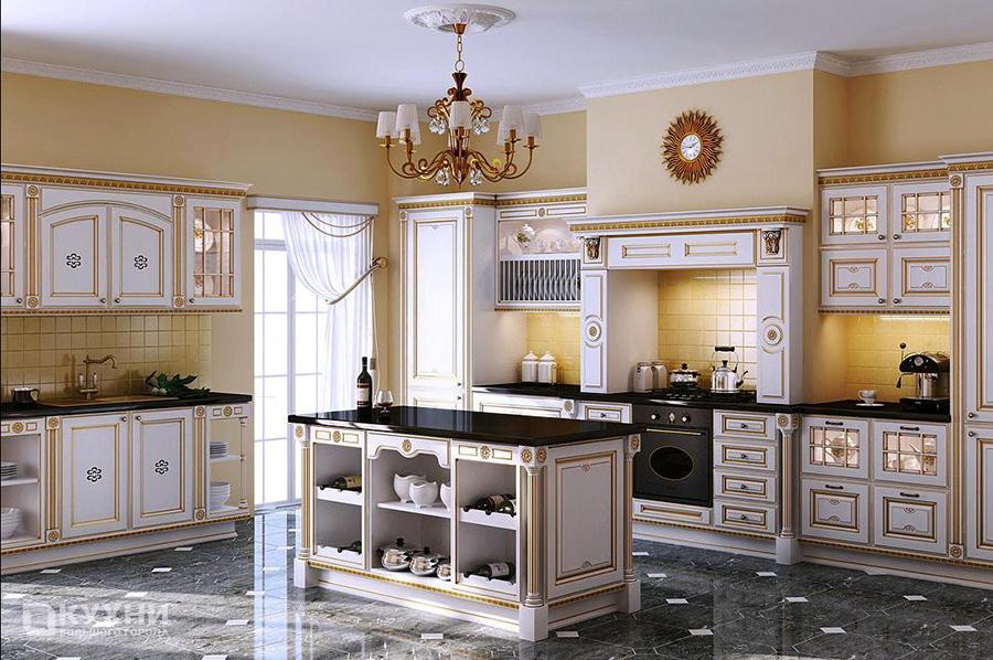 Кухня в итальянском стиле 10