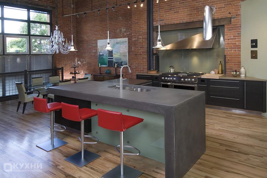 Кухня в стиле Лофт 5