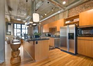Кухня в стиле Лофт 8