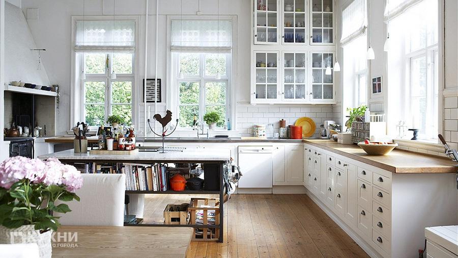 Кухня в скандинавском стиле 18
