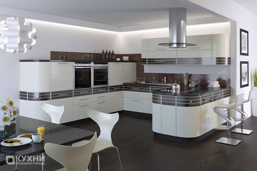 Кухня в стиле хай-тек 13