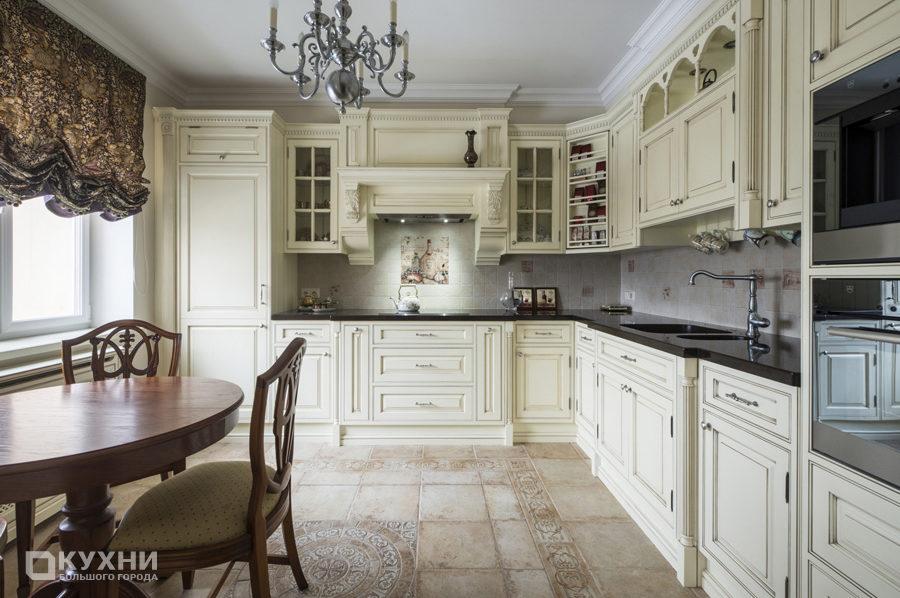 Кухня в английском стиле 5