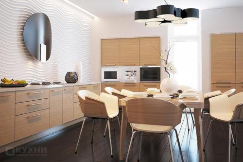 Кухня из ЛДСП «Дюссельдорф» в Современном стиле