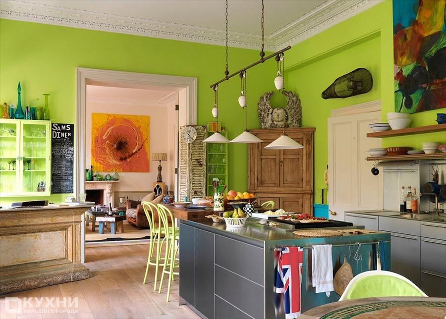 Кухня в стиле Эклектика 3