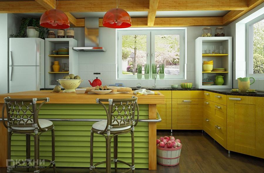 Кухня в стиле Эклектика 9