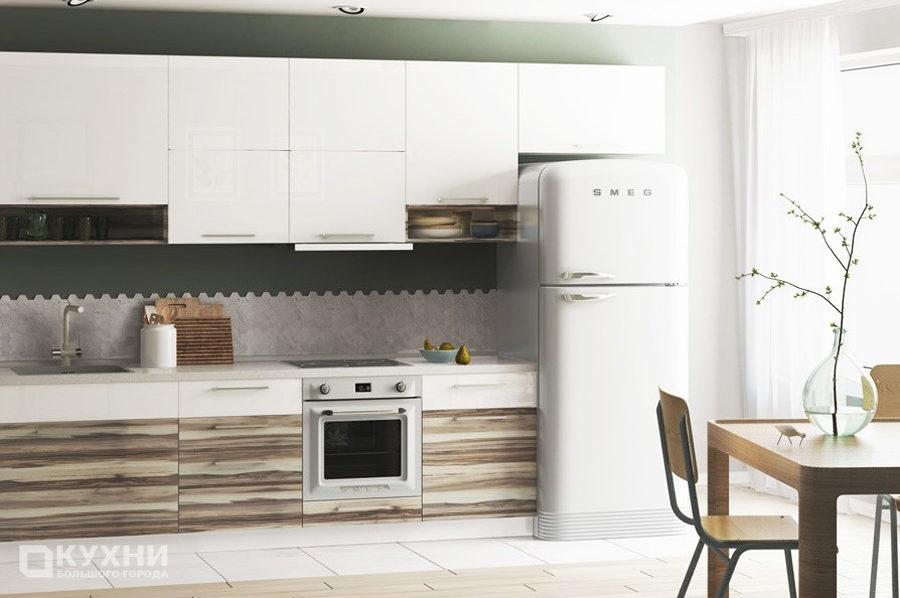 Кухня из акрила «Краков» в Современном стиле