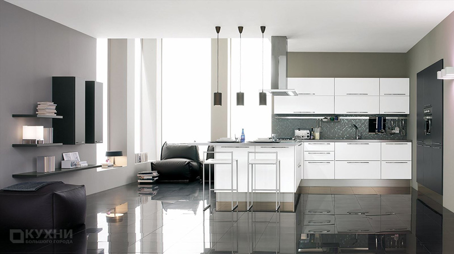 Кухня в стиле Модерн 14
