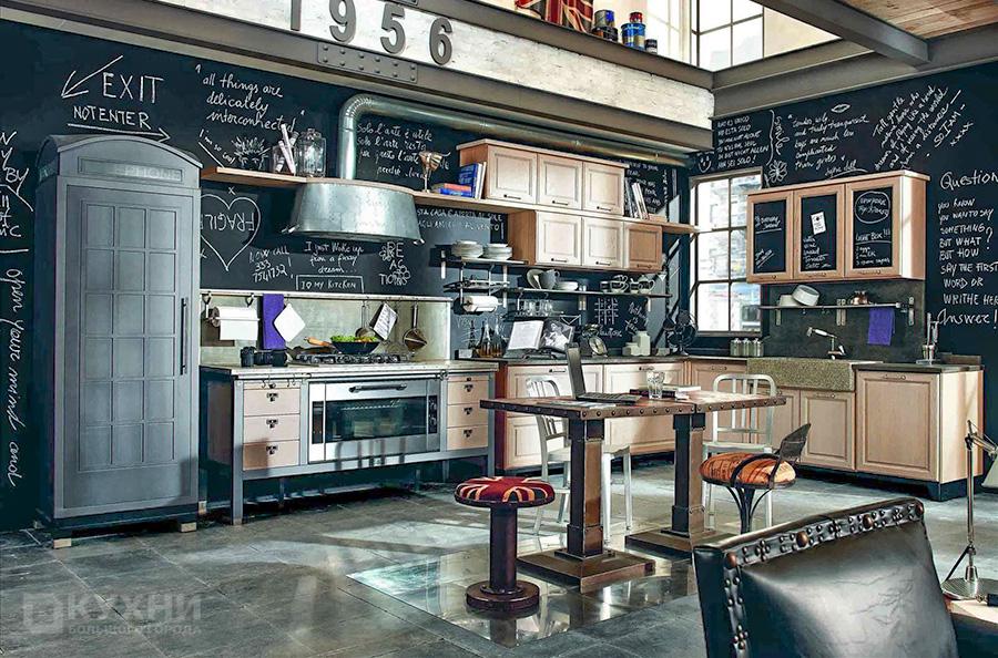 Кухня в стиле Ретро 10